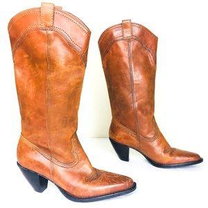 White Mountain Leather Dallas Cowboy Boot 7.5